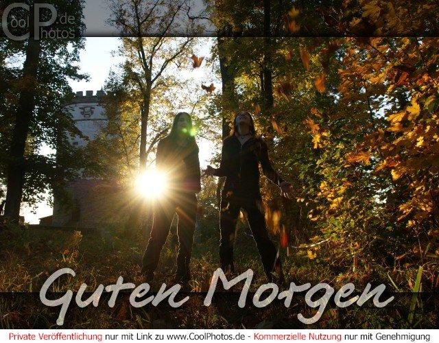 Grußkarte Nr. 119 (Guten Morgen) Herbstliche Guten Morgen Karte
