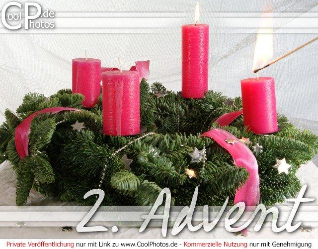 gru karte nr 191 adventskarten 2 advent. Black Bedroom Furniture Sets. Home Design Ideas