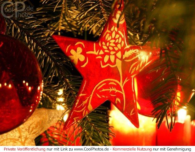 Roter stern - Schlumpf weihnachten ...