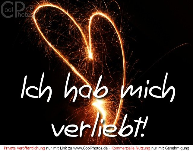 CoolPhotos.de - Grußkarten - Verliebt - Ich hab mich verliebt!