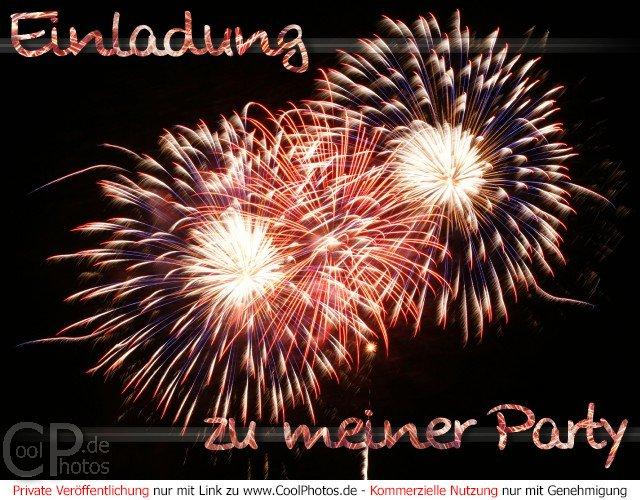 CoolPhotos.de - Grußkarten - Einladung zu meiner Party