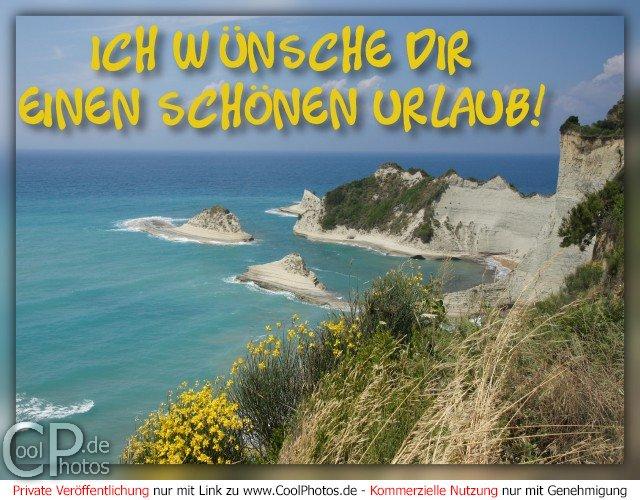 CoolPhotos.de - Fotos - Ich wünsche Dir einen schönen Urlaub!