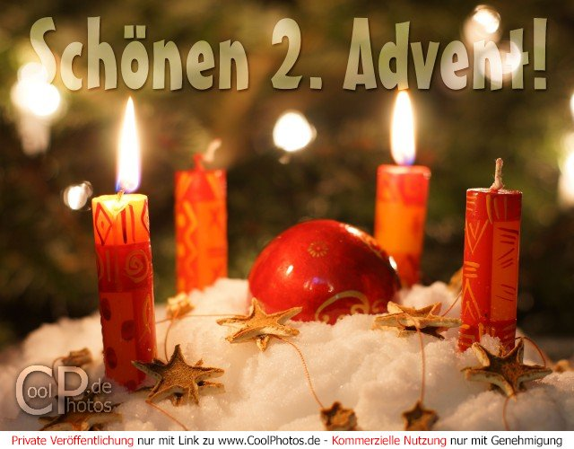 fotos adventskarten sch nen 2 advent. Black Bedroom Furniture Sets. Home Design Ideas