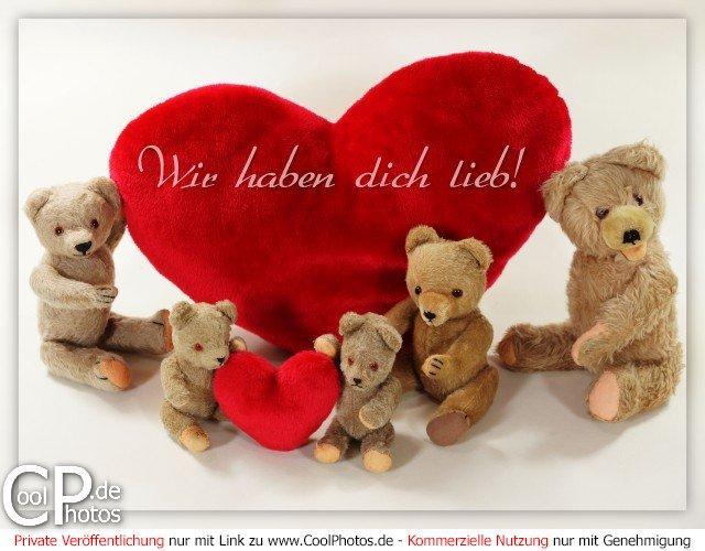 CoolPhotos.de - Grußkarten - Ich hab Dich lieb - Wir haben