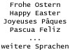 Preview image of the category Easter E-Cards (Misc. Languages)