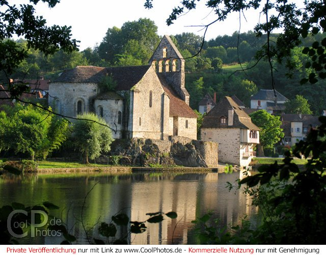 Blick über die Dordogne