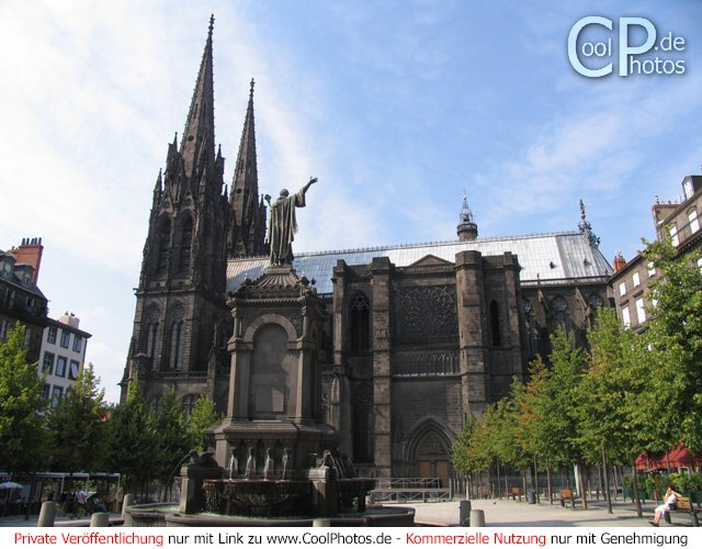 Kathedrale Notre-Dame in Clermont Ferrand