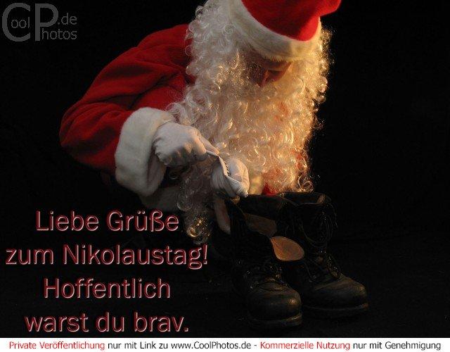 Coolphotosde Liebe Grüße Zum Nikolaustag Hoffentlich