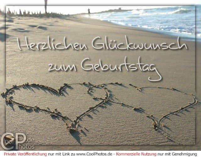 Bekannte CoolPhotos.de - Geburtstagskarten - Herzlichen Glückwunsch zum  EL58