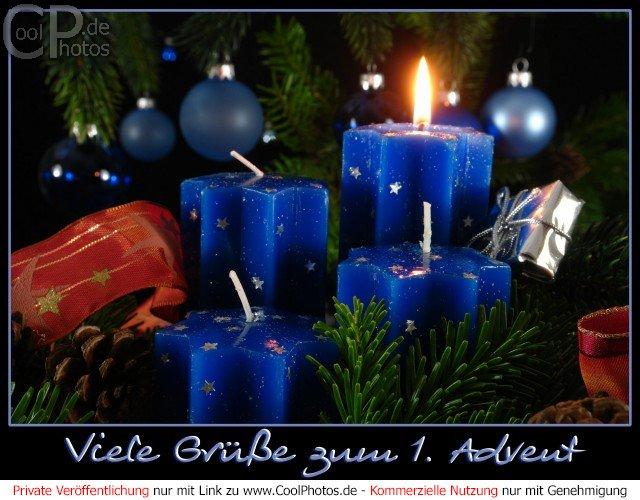 Weihnachtsbilder Und Grüße.Coolphotos De Fotos Adventskarten Viele Grüße Zum 1 Advent