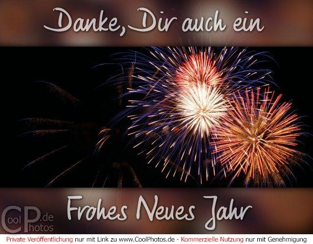 CoolPhotos.de - Danke, Dir auch ein Frohes Neues Jahr