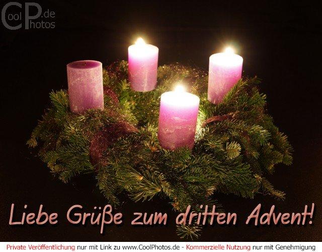 Weihnachtsbilder zum dritten advent