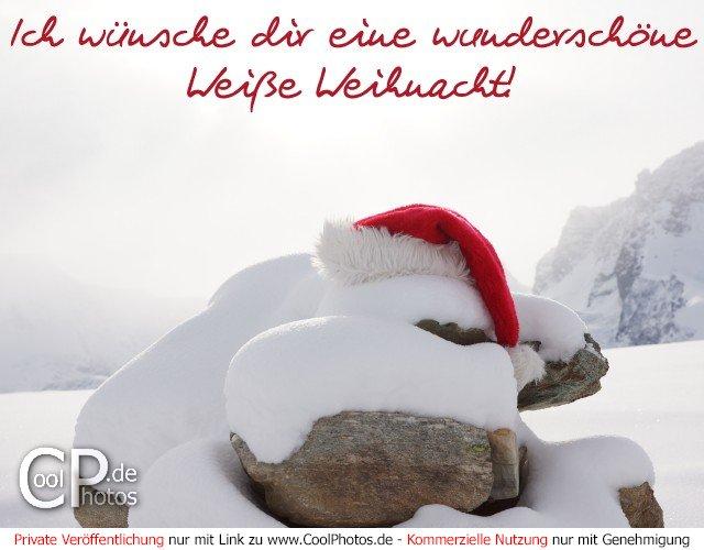 Ich w nsche dir eine wundersch ne wei e - Weihnachtskarten verschicken kostenlos ...
