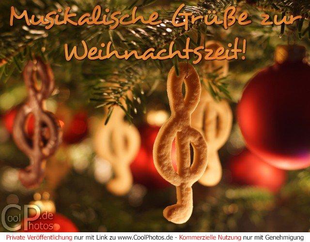 Weihnachtsbilder Und Grüße.Coolphotos De Weihnachtskarten Musikalische Grüße Zur