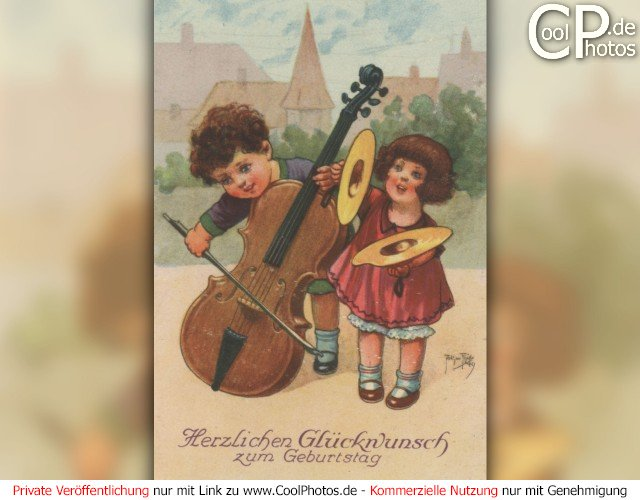 CoolPhotos.de   Fotos   Geburtstagskarten für Musikfreunde