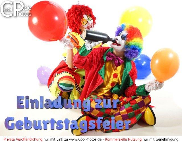 CoolPhotos.de - Einladungskarten - Einladung zur Geburtstagsfeier