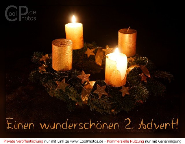 adventskarten einen wundersch nen 2 advent. Black Bedroom Furniture Sets. Home Design Ideas