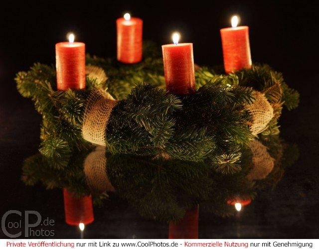 Fotos adventskr nze - Weihnachtskarten verschicken kostenlos ...