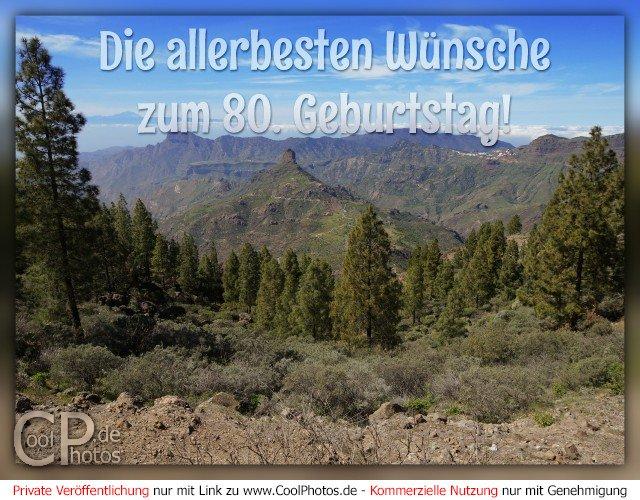 Coolphotosde Die Allerbesten Wünsche Zum 80 Geburtstag