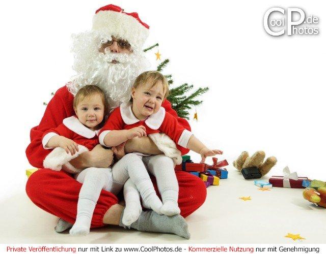 Weihnachtsbilder weihnachtsmann mit schlitten