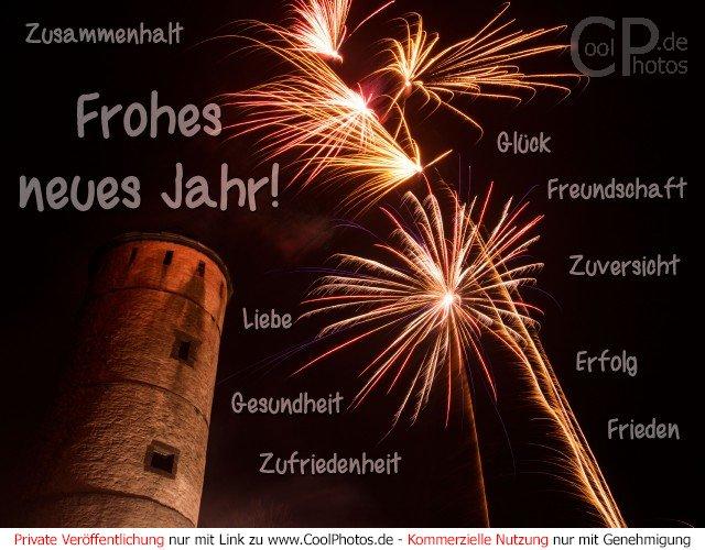CoolPhotos.de - Frohes neues Jahr! Zusammenhalt Glück Liebe ...