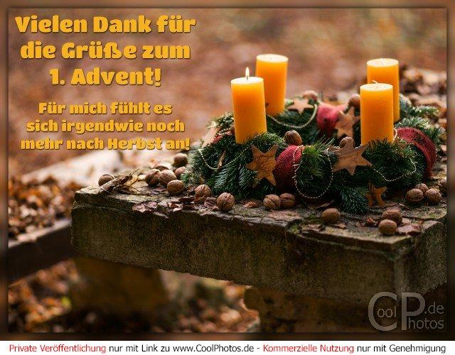 Fotos zum 1 advent