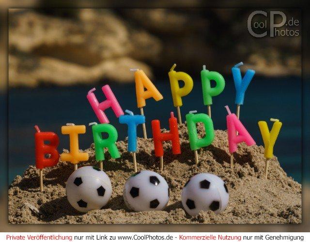 Happy Birthday Fußballfan