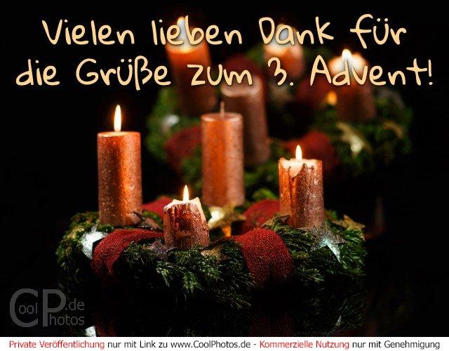 Weihnachtsbilder Zum 3 Advent.Coolphotos De Vielen Lieben Dank Für Die Grüße Zum 3 Advent
