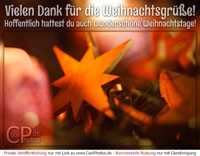 CoolPhotos.de - Vielen Dank für die Weihnachtsgrüße! Hoffentlich ...