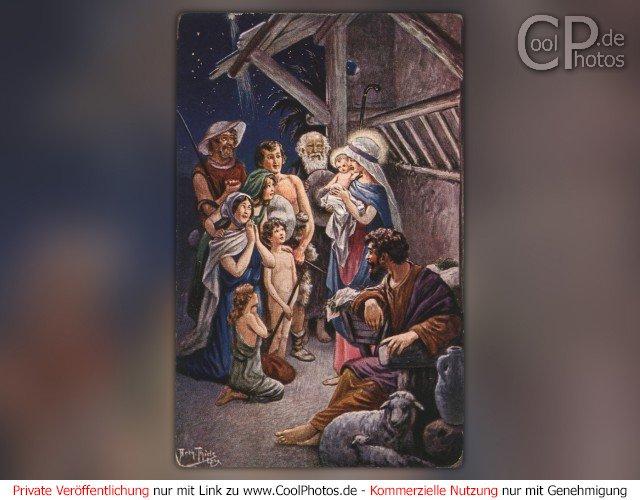 CoolPhotos.de - Grußkarten - Antike Weihnachtskarten