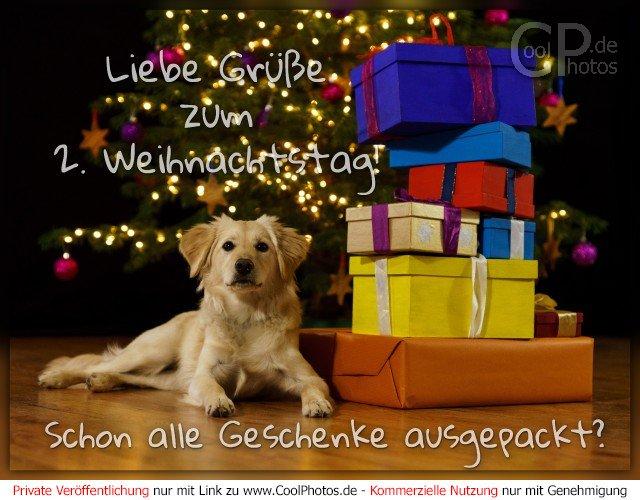 Coolphotosde Liebe Grüße Zum 2 Weihnachtstag Schon Alle