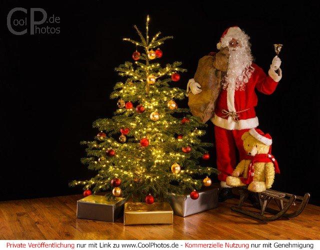 Verschneite Weihnachtsbilder.Coolphotos De Grußkarten Nikolaus Weihnachtsmann