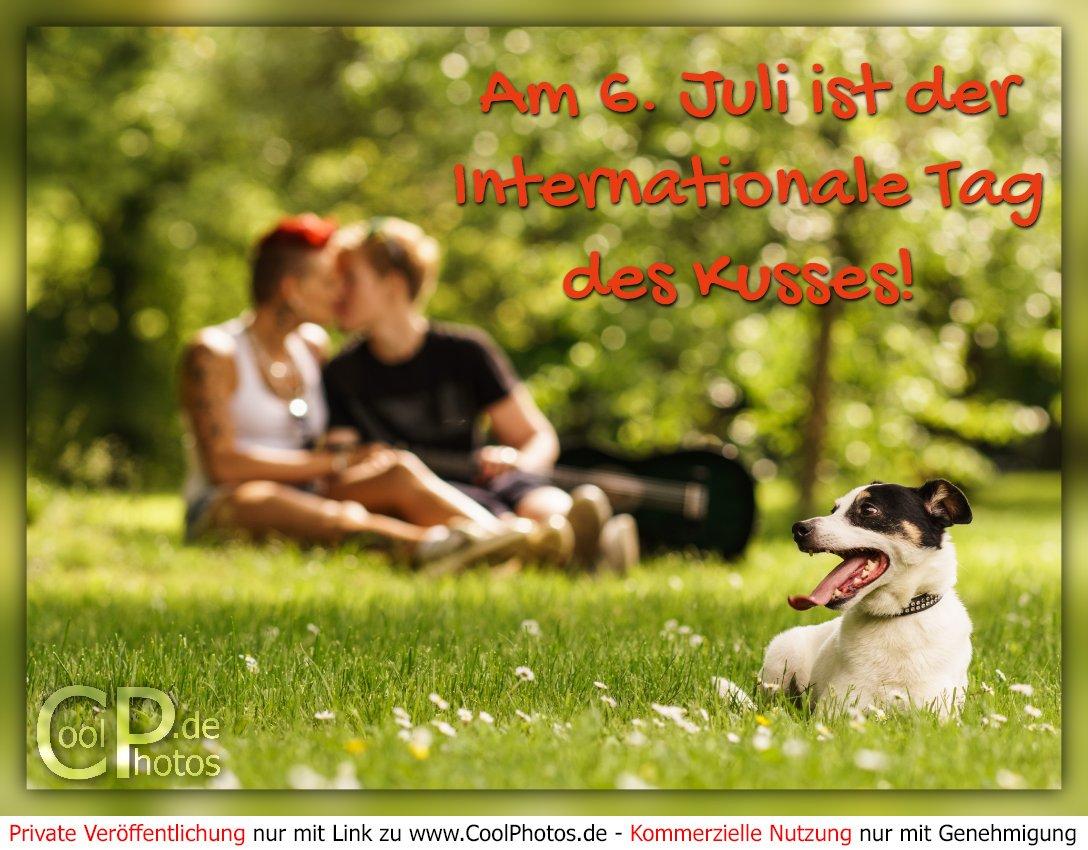 Tag 2016 kusses internationaler des Internationaler tag