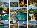 Viele Grüße aus Mallorca - Postkarte mit Motiven von den schönen Seiten Mallorcas