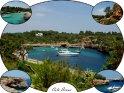 Impressionen von der kaum bebauten Mittelmeerbucht Cala Sanau