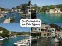 Ansichtskarte aus dem malerischen Fischerort Cala Figuera