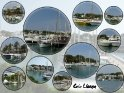 Postkarte mit maritimen Motiven aus dem Hafen Cala Llonga