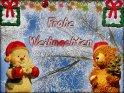 Frohe Weihnachten    Dieses Kartenmotiv wurde am 27. Dezember 2003 neu in die Kategorie Weihnachtskarten aufgenommen.