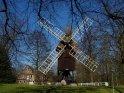 Windmühle auf der Museumsinsel in Stade