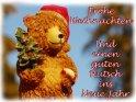 Frohe Weihnachten und einen guten Rutsch ins Neue Jahr    Dieses Kartenmotiv ist seit dem 06. Dezember 2003 in der Kategorie Weihnachtskarten.