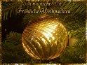 Ich wünsche Dir Fröhliche Weihnachten    Dieses Motiv findet sich seit dem 26. Dezember 2003 in der Kategorie Weihnachtskarten.