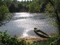 Alter Kahn im Wasser