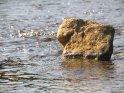 Stein in der Dordogne