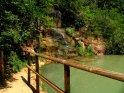 Wasserfall an der Oase der Stille
