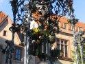 Das Gänseliesel, das meistgeküsste Mädchen Göttingens, da traditionelle jeder frischgebackene Doktor der göttinger Universität das Gänseliesel küssen muss.