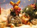 Weihnachtselch    Dieses Motiv wurde am 02. Dezember 2004 in die Kategorie Weihnachtsbilder eingefügt.