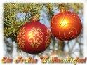 Ein Frohes Weihnachtsfest    Dieses Motiv findet sich seit dem 21. Dezember 2004 in der Kategorie Weihnachtskarten.
