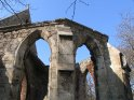 Ruine der 1943 zerstörten Nikolaikapelle