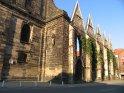 Die Ruine der Aegidienkirche, eine Gedenkstätte für die Opfer der Kriege und der Gewalt