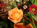 weihnachtlicher Blumenstrauß
